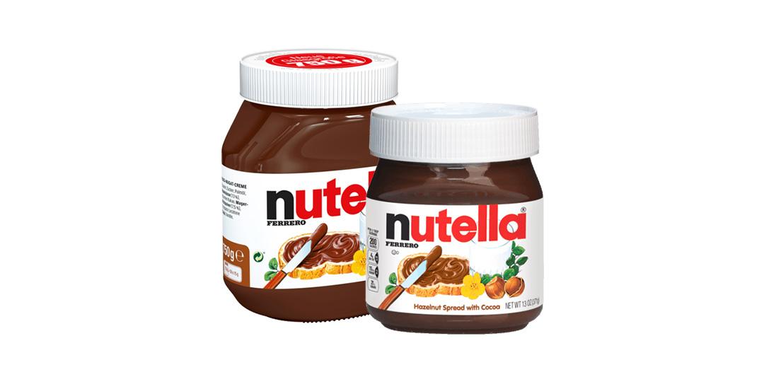Nutella 750 gr / 400 gr